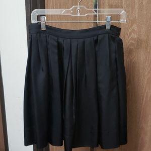 NWT Halston Heritage Black Skirt Size XS